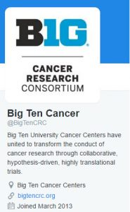 Follow Big Ten Cancer Research Consortium on Twitter